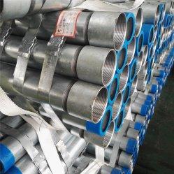 Tubo in acciaio zincato a caldo ASTM A53 grado B con Filettatura e accoppiamento