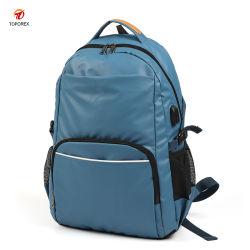 Producto caliente Viajes moda mochila de senderismo Deportes al aire libre hombro la bolsa de portátil USB CARGADOR