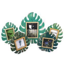 나무로 되는 다채로운 잎 사진 프레임 DIY 기술 홈 & 호텔 & 사무실 훈장 선물