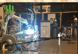 溶接レーザーの発煙のための携帯用集じんシステム