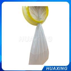 Médicos desechables bolsas vomitan plástico