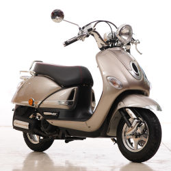 Gut entworfen Classic Typ 50cc Roller Gas Moped Bike