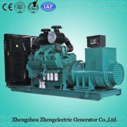 460KW 600kVA Cummins de garantía de 60 Hz conector de GOBAL impermeable copia de seguridad generador de energía