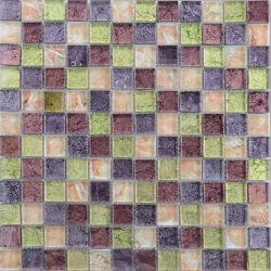 300x300 Folha de ouro de cores misturadas em mosaico lado a lado espanhol de vidro