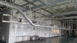 Novo de suínos para abate Pre-Stripping equilibrada a estação de processamento da máquina de Abate