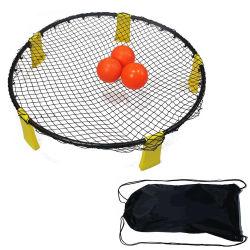 شاطئ لعبة [هيغقوليتي] 3 مصغّرة كرة الطائرة هدف شبكة 5 ساق يتضمّن [بورتبل] [أم] علامة تجاريّة وحجم متحمّل عادة مسبار كرة