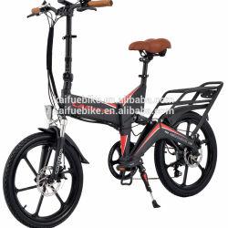 48V 350W Ebike Motor bicicleta dobrável eléctrico com bateria ocultos