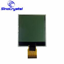 شاشة LCD أحادية اللون ذات لون أبيض وأسود 128128 شاشة عرض رسومية