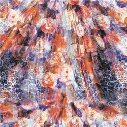De in het groot Digitale Stof Van uitstekende kwaliteit van de Zijde van Af:drukken (xf-0035)