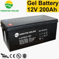 12+年の生命自由な維持VRLAの再充電可能なゲル12V 200ah電池