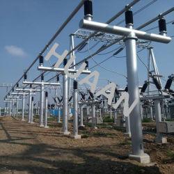 Galvanisé à chaud de transmission électrique de la structure sous-stations électriques