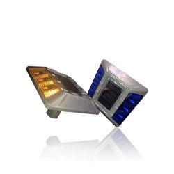 6pcs portable haute qualité a conduit l'énergie solaire stud avec la jambe de route