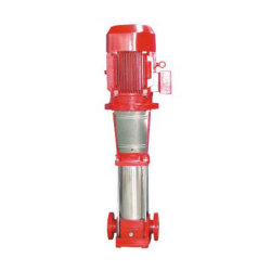 مضخة إطفاء الحريق الرأسية متعددة المراحل ثابتة النوع