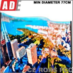 Più nuovi segni della finestra del LED per la pubblicità del tabellone dell'interno del LED dell'affitto della fase mobile