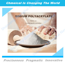 prix d'usine du polyacrylate de sodium de grade alimentaire paas