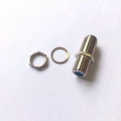 F droites cloison femelle à femelle à montage sur carte adaptateur de connecteur coaxial RF de câblage