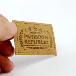 Surface rugueuse National Matte coudre à la main sur les Jeans en cuir Patch de PU