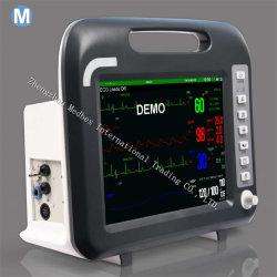 12.1 15.1'', écran tactile de l'ECG du Moniteur Patient Multi-Parameter ICU