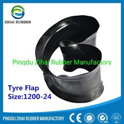 12.00R24 резиновые шины с обода с резиновой Zihai заслонки