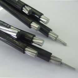 Tensão baixa liga de alumínio ABC serviço de cabo Cabo 16mm2 35mm2