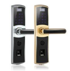 マルチ生物測定亜鉛合金の指紋のパスワードカードキー(UL-780)のスマートなドアロック