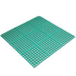Bureau de l'atelier antiglisse salle de gym les carreaux de revêtement de sol en caoutchouc/tapis de sol en caoutchouc/plancher de garage