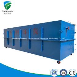 Trattamento efluente nazionale di prezzi di fabbrica/industriale/dell'ospedale Integrated ETP acque luride, trattamento di acqua di scarico compatto per il riciclaggio delle acque di rifiuto