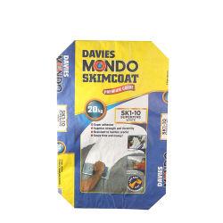 Lamelliertes PET Woven Bag pp. Bag/Sack Block Bottom 50kg /25kg Valve Cement Packaging Bag