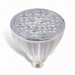 PAR38 LED лампы фонаря направленного света с 15 X 1 Вт светодиодов высокой мощности, доступных с регулируемой яркостью