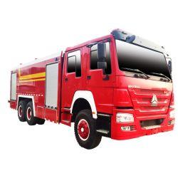 شاحنة الإطفاء MITR Fire FRENL MANTREA بقدرة 12 طنًا متريًا تعمل بشاحنة الإطفاء مع خزان مياه بسعة 10 لترات وبخزان إسفنج سعة 2000 لتر وبسعة 2 لتر