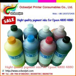 8 couleurs de qualité Premium d'encre pigment de recharge pour Epson 4880, cartouche de recharge encre à pigments