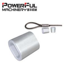 Aluminiumhülsen-Scheibe der ovalen Form-DIN3093 für Stahldrahtseil