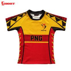 Vêtements de sport d'usine d'engrenage Aibort SUBLIMATION Maillot Rugby (L-R-01)