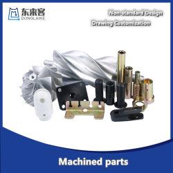 يستخدم مركز صناعة الماكينات لقطع معدنية مخصصة من CNC للعمل بماكينات ومعدات أتمتة صناعة شاحنات السيارات. قطع غيار الألومنيوم التلقائي