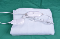 Standard europeo Electric Blanket (poliestere 100%)