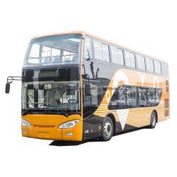 후방 엔진 디젤 엔진 유로 3 이층 버스 두 배 Decker 수송 차량 전송자 Pubilc 시 버스를 제공하십시오