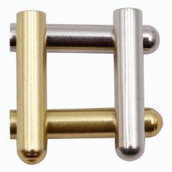 Weiou Schuh Zubehör Hersteller′ S New Metal Head Silber und Gold Metall Schulterriemen Unterstützung Custom Farben und Logos