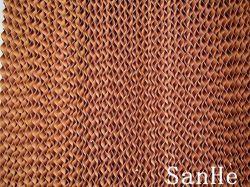 Almohadilla de refrigeración por evaporación de pared con una alta eficiencia
