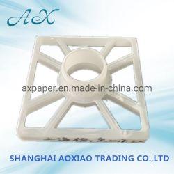 180mmx180mmx75mm Eco-Friendly PE Tubo do núcleo de plástico grande calibre titular de suporte do Bujão