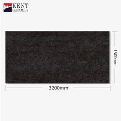 1600*3200mm de mármol negro oro encimera de granito para gabinetes de cocina Muebles de la tabla