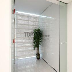 زجاج خارجي مخصص / نافذة رأسية داخلية ظلال من الألومنيوم قابلة للتشغيل متحف اللوفر Louvre