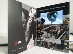 Hot Sale A4 Carte de lecteur Vidéo Brochure - écran LCD