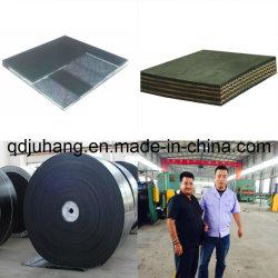 Ep/Nnのナイロン綿の耐久力のある管状のゴム製コンベヤーベルト