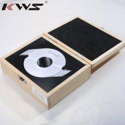 Kws de madera de 160 mm de finger joint de corte para madera 160X70X4.0X2t