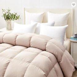 좋은 시장, 고급, 편안한 100% 코튼 핑크 컬러 화이트 호텔 홈으로 오리 페더 코포터