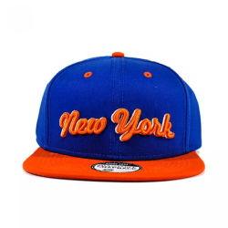 Cappello acrilico di Snapback della protezione del ricamo della protezione della protezione piana di 100% nuovo