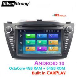 CarPlay DSP Px5 IPS Car DVD Player Android سعة 10 جيجابايت نظام تحديد المواقع العالمي (GPS) سعة 64 جيجابايت نظام WiFi راديو RDS Bluetooth لنظام Hyundai IX35 2010 2012 2013