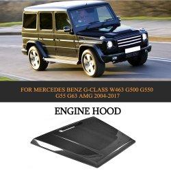 Motorhaube aus Carbon für Mercedes Benz G-Klasse W463 G500 G550 G55 G63 AMG 04-17