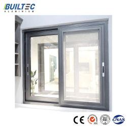 건축재료 알루미늄 단면도 분말 입히는 알루미늄 합금 슬라이딩 윈도우