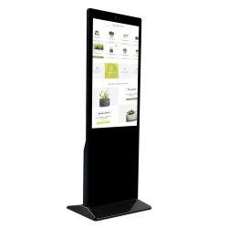 Plancher de 49 pouces Totem de signalisation numérique permanent Multi Touch Kiosque Table Android Media Player